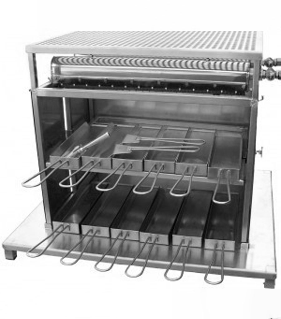 370-Raclette Turbo Ofen Gas