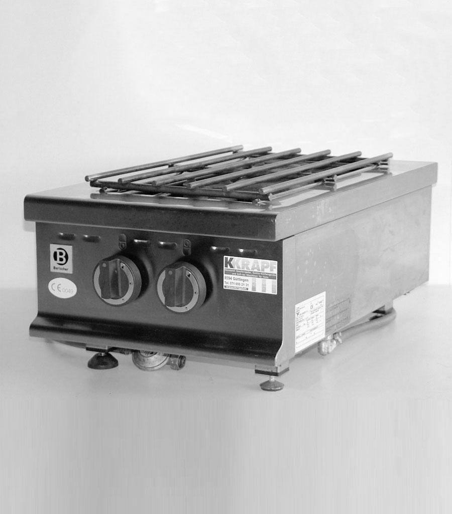 2400 Tischrechaud 2-Flammen GAS Produktbild