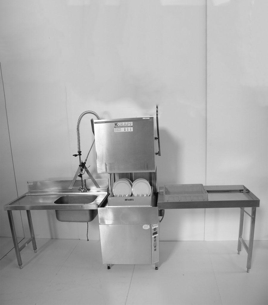 3002 Haubenwaschmaschine Produktbild