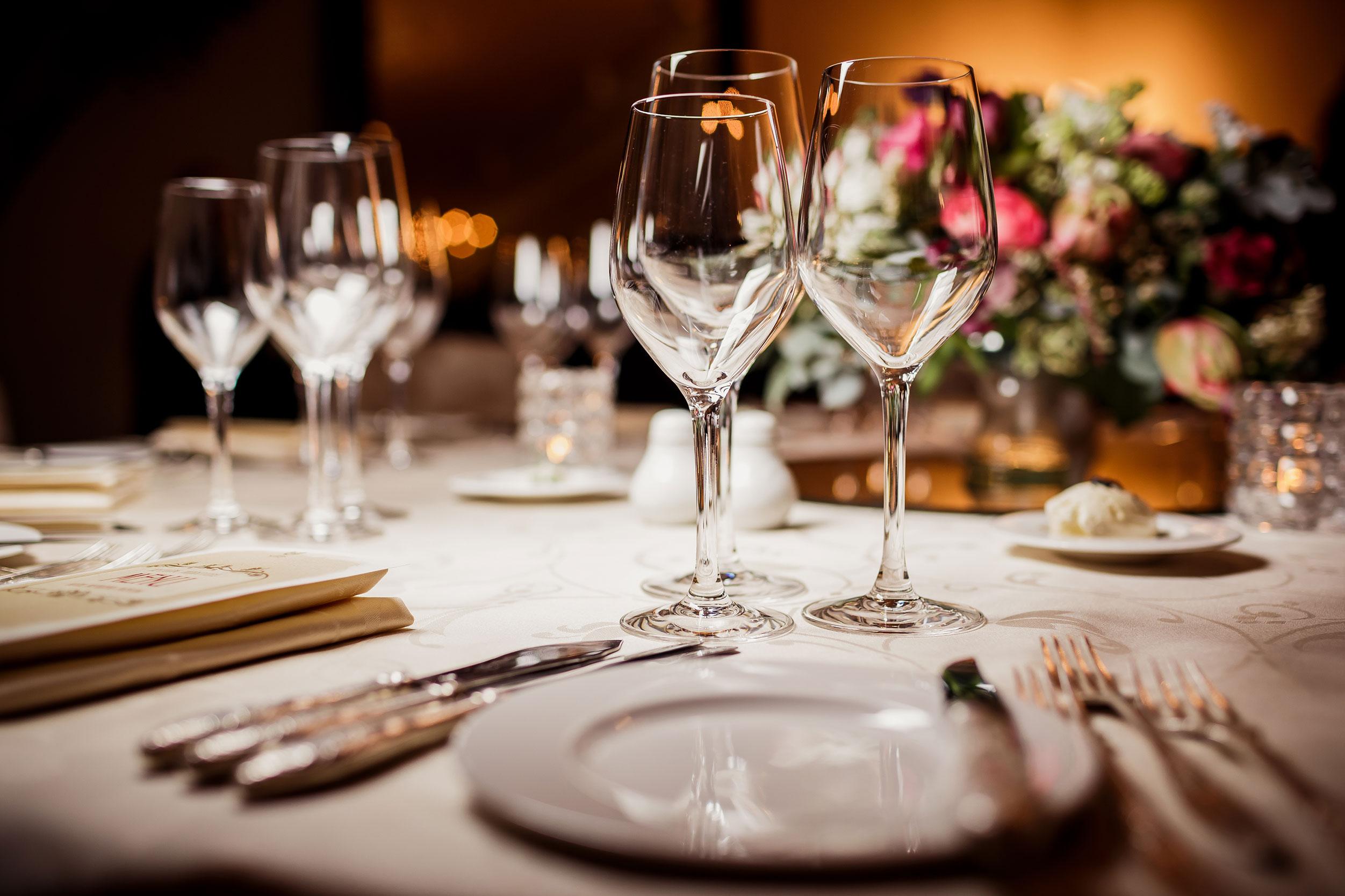 Gedeckter Tisch Catering Service